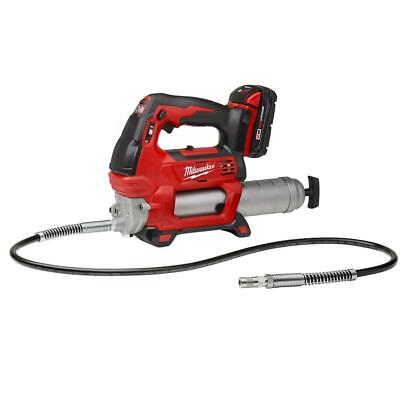 Milwaukee 2646-21CT M18 18-Volt 2-Speed 48-Inch Hose Grease Gun w/ Battery