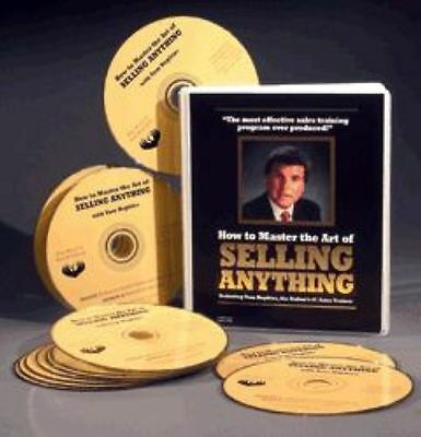 How To Master The Art of Selling Anything - Tom Hopkins - 13 CDs - NEW & SEALED
