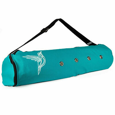 Peace Yoga Exercise Tote Bag Yoga Mat Carrier with Adjustable Strap & Pocket