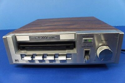 REALISTIC SCP-5, stereo cassette player-deck. (ref A 217)