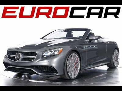 2017 Mercedes-Benz S-Class AMG S63 Cabriolet ($199,925.00 MSRP) 2017 Mercedes-Benz AMG S63 Cabriolet - $199,925.00 MSRP, Vast Options!