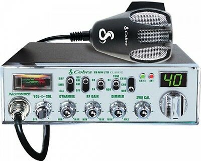 Cobra Mobile CB Radio With Dynamike Gain Control And SWR Antenna Calibration