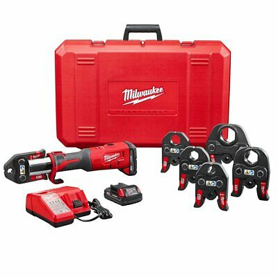 Milwaukee 2773-22 M18 14.1-Inch Lithium-Ion Brushless One Hand Press Tool Kit