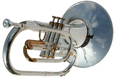 MARCHING MELLOPHONE SILVER PLATED  - Karl Glaser Premium