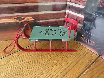 American Girl Doll Addy Cutter Sled Sleigh~FREE SHIP Pleasant Company