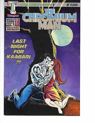 The Chromium Man #10 (May 1994, Triumphant)