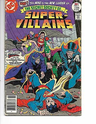 Secret Society of Super-Villains #7 (May-Jun 1977, DC)