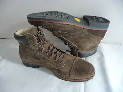 1ab5f0450d6ea ABINGTON NWOT Mens Hiking Outdoor Boots 11.5M Brown Suede Leather Captoe  Vibram