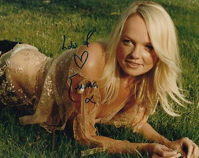 EMMA BUNTON (Spice Girls) - orig. sign. Großfoto
