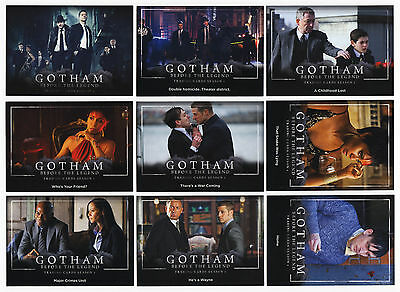 2016 Cryptozoic Gotham: Before The Legend Season 1 - 100 Card Mini-Master Set