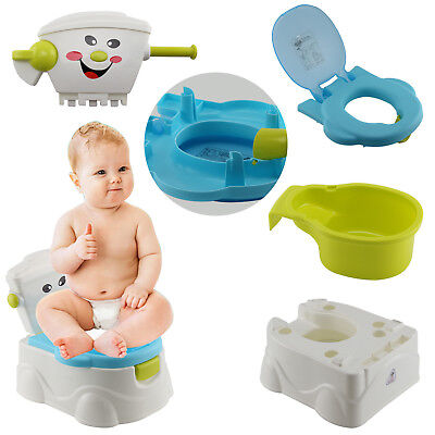 Baby Child Toddler Kids Training Toilet Potty Trainer Urinal Seat Chair Bathroom
