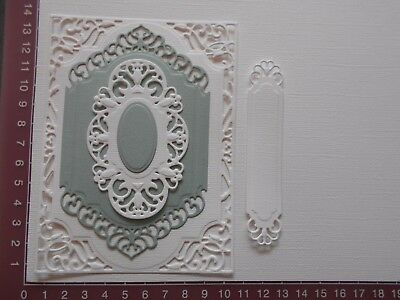 Die cuts - Spellbinders Mats, 5 pieces, Card Toppers, Embellishments - Lot 1