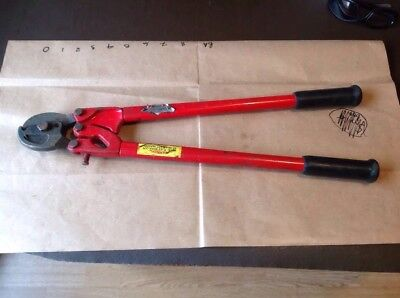 HK Porter No. PC 0106 3/8 Wire Rope Cutters & Cable Cutters - 24""