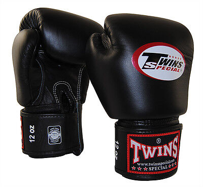 TWINS SPECIAL MUAY THAI BOXING GLOVES BGVL-3 MMA 10 12 14 16 oz AUS STOCK NEW