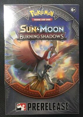 Pokemon Sun & Moon Burning Shadows Prerelease Kit Pre-release Box Factory Sealed