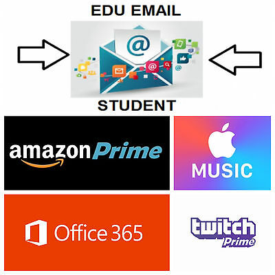.edu Email Tutorial | Amazon Prime & Twitch | Office 365 | Apple Music | + More