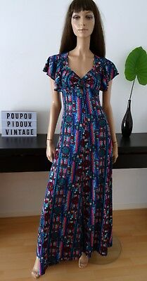 robe vintage CENTEX FLIPPER colorée taille 34/36 - uk 6/8 - us 2/4