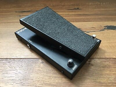 Morley Power Wah / Volume Pedal Guitar effects Pedal modified Wah Optical Volume