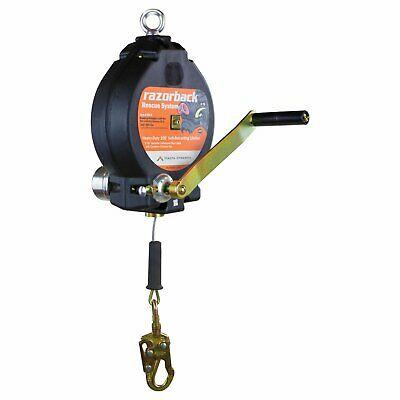 100' Three Way Recovery SRL with Snap Hook with Impact Indicator 44 lbs. - R0003