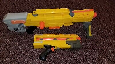 Nerf Longshot CS-6 Sniper Rifle Dart Gun Hasbro 2006 Used Tested & Working