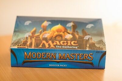 MTG Magic The Gathering Modern Masters (2013) SEALED NEW booster box