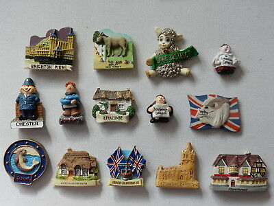 One Selected 3D Souvenir Fridge Magnet from a chosen UK Destination