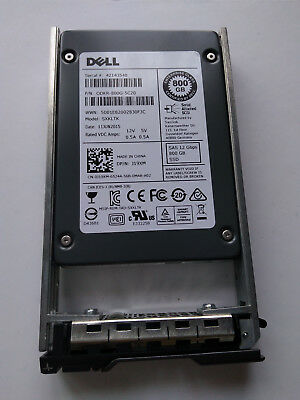 "5x Dell SanDisk 800GB SAS 12Gbps 2.5"" Hot-Plug SSD Model SXKLTK DPN: J19XM"