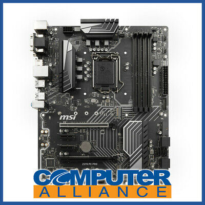 MSI S1151 ATX Z370 PC PRO DDR4 Motherboard
