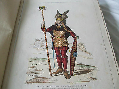 costume of france, Costumes Civils Et Militaires Des Francais 100 plus plates