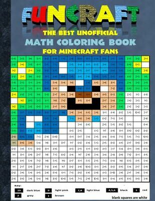 Funcraft - The best unofficial Math Coloring Book for Minecraft Fans (Buch)