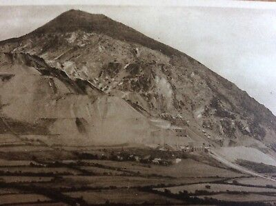 Vintage Pc View Of The Working Quarry At Trevor Llangollen Denbighshire Wales