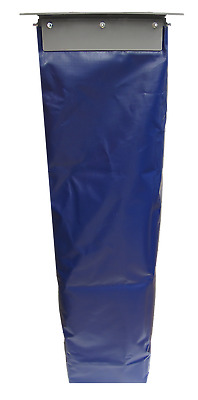 12 Inch Square Dust Control Loadout Sock With Flange And Sock