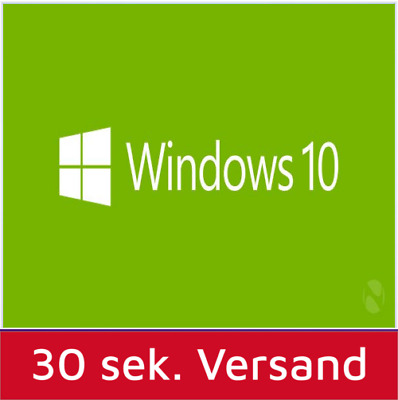 windows 10 professional 32 64 bit sp1 deutsch oem. Black Bedroom Furniture Sets. Home Design Ideas