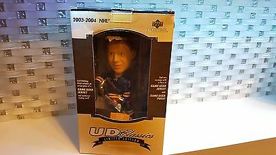 2003-04 NHL Upper Deck UD Classic Bobble Head Pavel Bure 56 / 100 Autograph Puck