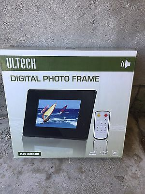 "Ultech 8"" Digital Photo Frame New In The Box Picture"