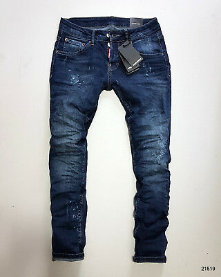 New Coll. Jeans Dsquared2 Brand S74Lb0257 S30342470 Tags Awesome - Man Fit Blue