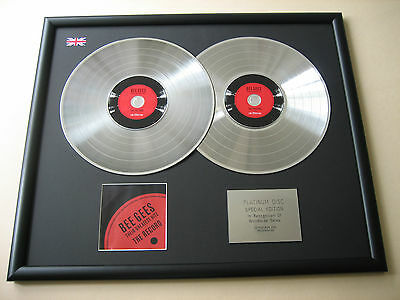 BEE GEES Their Greatest Hits The Record DOUBLE CD DISC Platinum Presentation