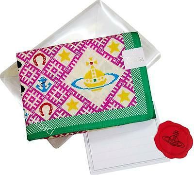 Vivienne Westwood Handkerchief Orb Ethnic Style w/Greeting Card Orb Sticker Set