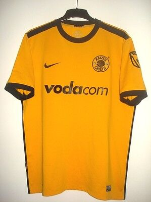 Vintage Nike KAIZER CHIEFS 2009 - 2010 Shirt Jersey Maglia Maillot South Africa