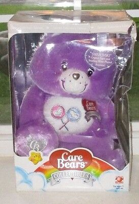 Care Bears Collectors Edition SHARE BEAR with Swarovski Eyes NIB