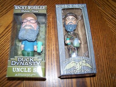 Set of 2 Duck Dynasty Bobble Heads