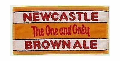 Newcastle Brown Ale Cotton Bar Towel (pp) by signs-unique