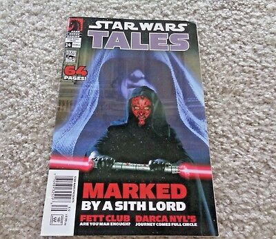 Star Wars Tales #24 June 2005 Maarked By A Sith Lord Dark Horse