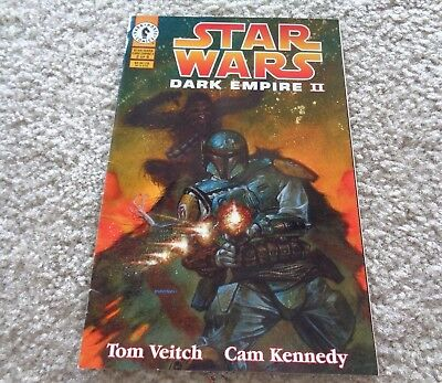 Dark Horse Comics Star Wars 2 of 6 Dark Empire II Issue 2 January 1995