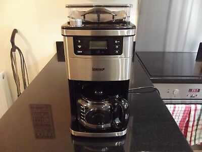 Igenix IG8225 1050W 1.5 Litre Bean to Cup Digital Filter Coffee Maker