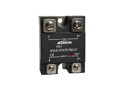 Kudom 40A 4-32Vdc Control 100Vdc Load Mosfet Solid State Relay Panel Mount