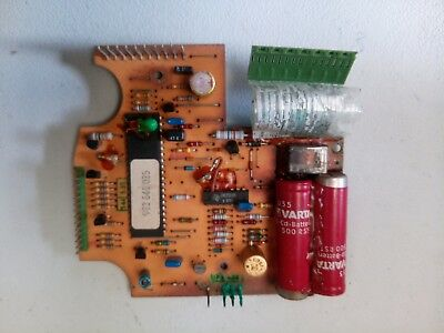 BMW E28 instrument cluster battery circuit board