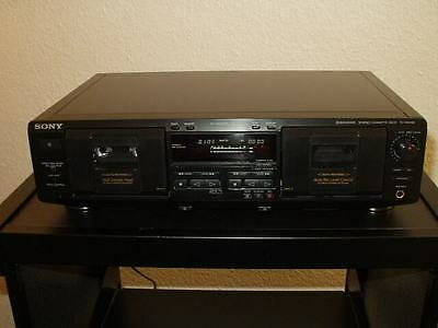 Sony TC-WE435 double cassette deck,Pitch,Fader+ accessories,12 Months Warranty
