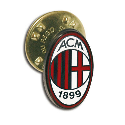 AC MILAN SPILLA PIN ORIGINALE in METALLO - AC MILAN PIN - OFFICIAL PRODUCT