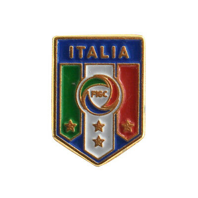 ITALIA FIGC SPILLA PIN ORIGINALE in METALLO - ITALIA FIGC PIN - OFFICIAL PRODUCT